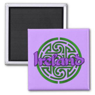 Was, an St Patrick Tag zu tragen Quadratischer Magnet