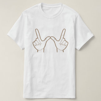 Was auch immer! (Handzeichen-) Pop-Kultur-Grafik T-Shirt