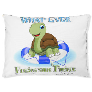 Was auch immer Ihre Schildkröte 2 schwimmt Haustierbett