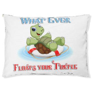 Was auch immer Ihre Schildkröte schwimmt Haustierbett