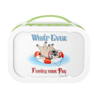 Was auch immer Ihren Mops schwimmt Brotdose
