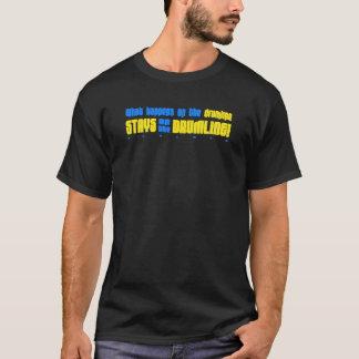 Was auf dem Drumline T-Shirt geschieht