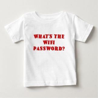 Was das Wifi Passwort ist Baby T-shirt