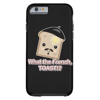 was der französischer Toast niedliche kawaii Tough iPhone 6 Hülle