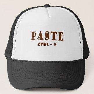 Was die Tastaturabkürzung für Paste ist Truckerkappe