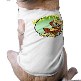 Was Haustier-Kleidung Ärmelfreies Hunde-Shirt