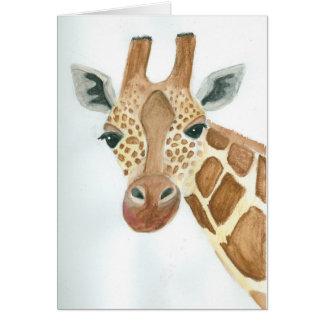 Was herauf Giraffe ist Karte