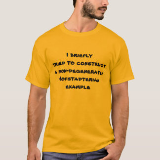 was ich tat T-Shirt