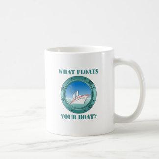 Was Ihr Boot schwimmt Kaffeetasse