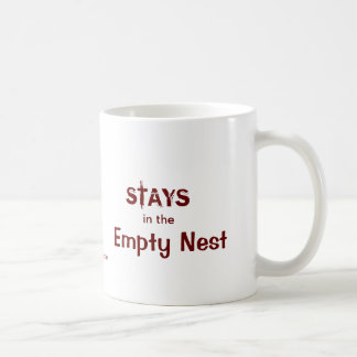 Was im leeren Nest geschieht Kaffeetasse