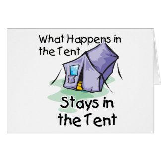 Was im Zelt geschieht Karte