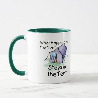 Was im Zelt geschieht Tasse