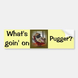 Was ist Goin auf Pugger? Autoaufkleber
