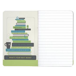 Was ist Ihr folgendes Buch? Taschennotizbuch