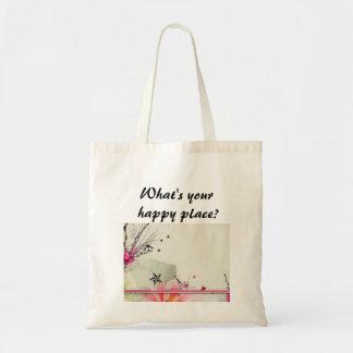 Was ist Ihr, glücklicher Platz? Tragetaschen