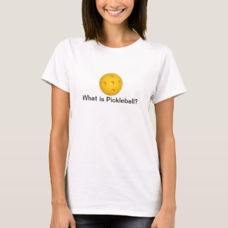 Was ist Pickleball? T - Shirt