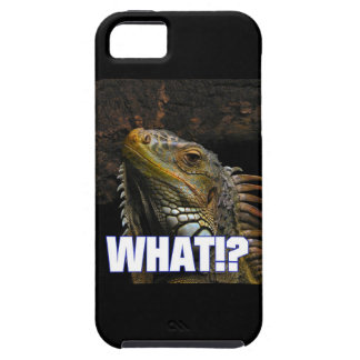 Was!? Leguan iPhone 5 Schutzhülle
