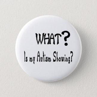 was meine Autismusvertretung? Runder Button 5,7 Cm