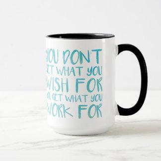 Was Sie erhalten Tasse