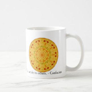Was Sie nicht getan zu selbst wünschen, tun Sie ni Kaffee Tassen