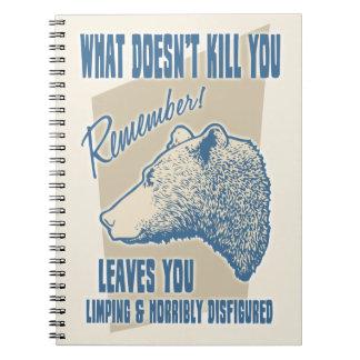 Was Sie nicht tötet Notizblock