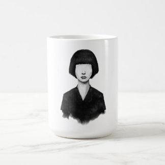 was Sie sehen, ist, was Sie erhalten Kaffeetasse