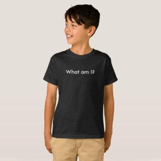 Was sind ich? Lustige Kinder schulen T - Shirt