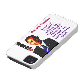 Was unsere allgemeine Verteidigung anbetrifft - iPhone 4 Case-Mate Hülle