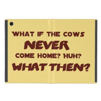 Was, wenn die Kühe NIE Zuhause kommen? iPad Mini Schutzhüllen