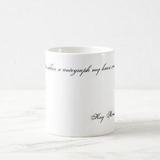 Was… wenn u-Autogramm mein Herz mit yo… zählt Kaffeetasse