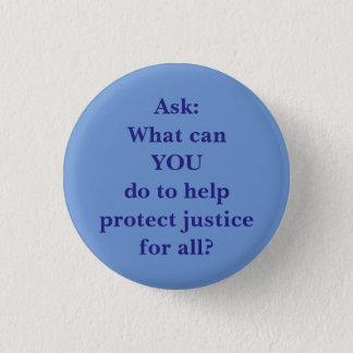 Was wir tun können! runder button 2,5 cm