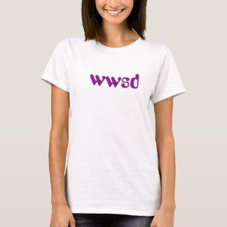 Was würde irgendein Buchstabe tun? T-Shirt