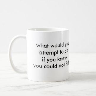 Was würden Sie tun? Kaffeetasse