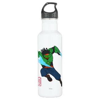 Wasabi überkomprimierte edelstahlflasche
