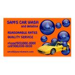 Waschanlage-Dienstleistungsunternehmen-Karten Visitenkarten Vorlagen