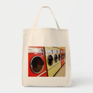Waschautomat Einkaufstasche