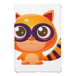 Waschbär-Baby-Tier in der Girly süßen Art iPad Mini Hülle