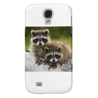 Waschbär-Babys Galaxy S4 Hülle