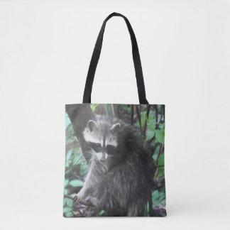 Waschbär-Freigabe Tasche