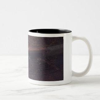 Waschbär-Freunde Zweifarbige Tasse