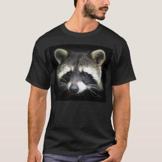 Waschbär Raccoon Portrait T-Shirt