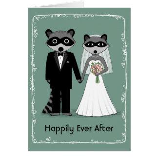 Waschbären glücklich seitdem karte
