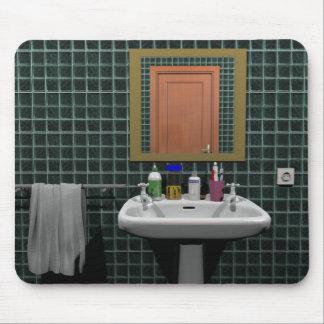 Waschbecken im Badezimmer Mousepad