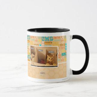 Wäscherei-Katze Tasse