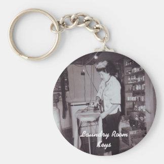 Waschküche Keychain Schlüsselanhänger