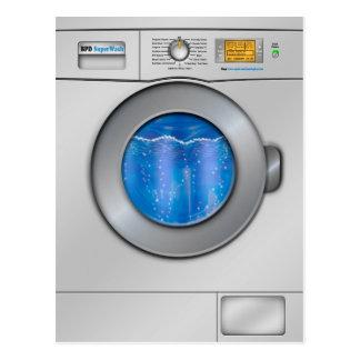 Waschmaschine Postkarten