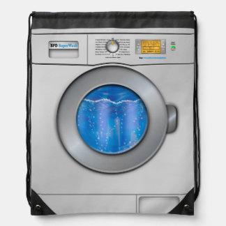 Waschmaschine Turnbeutel