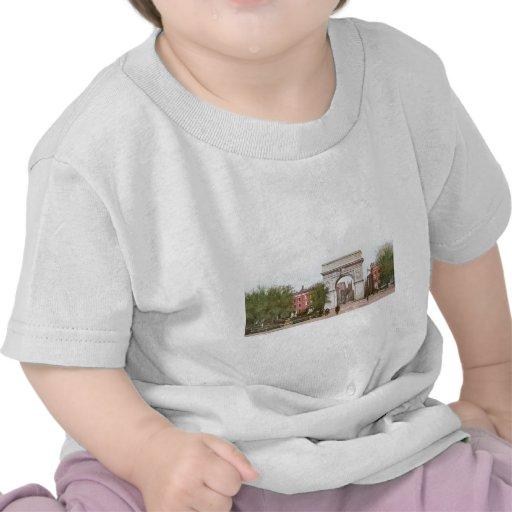 Washington-Bogen, Washington-Quadrat, New York Hemden