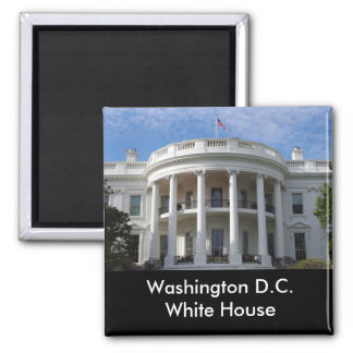 Washington D.C. White House Quadratischer Magnet