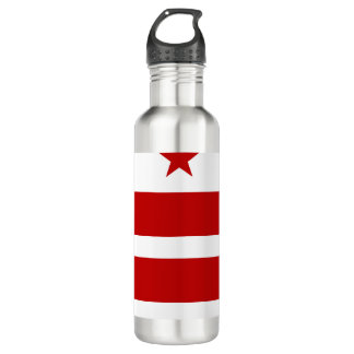 Washington, DC-Flagge Trinkflasche
